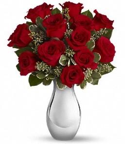 Eskişehir çiçek siparişi vermek   vazo içerisinde 11 adet kırmızı gül tanzimi