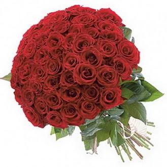 Eskişehir güvenli kaliteli hızlı çiçek  101 adet kırmızı gül buketi modeli