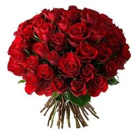 Eskişehir çiçek , çiçekçi , çiçekçilik  33 adet kırmızı gül buketi