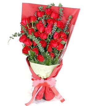 Eskişehir çiçek gönderme  37 adet kırmızı güllerden buket