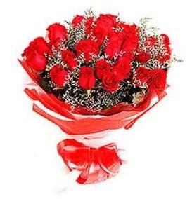 Eskişehir çiçek mağazası , çiçekçi adresleri  12 adet kırmızı güllerden görsel buket
