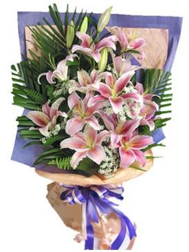 7 dal kazablankadan görsel buket  Eskişehir kaliteli taze ve ucuz çiçekler