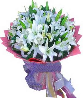 7 dal cazablanca görsel buketi  Eskişehir çiçekçi mağazası