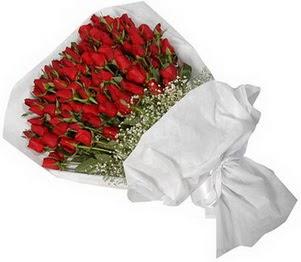Eskişehir İnternetten çiçek siparişi  51 adet kırmızı gül buket çiçeği