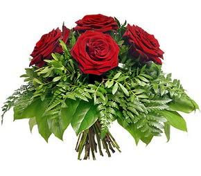 Eskişehir çiçek mağazası , çiçekçi adresleri  5 adet kırmızı gülden buket