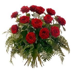 Eskişehir internetten çiçek satışı  15 adet kırmızı gülden buket