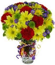 En güzel hediye karışık mevsim çiçeği  Eskişehir hediye çiçek yolla