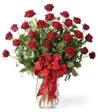 Sevgilime sıradışı hediye güller 24 gül  Eskişehir 14 şubat sevgililer günü çiçek