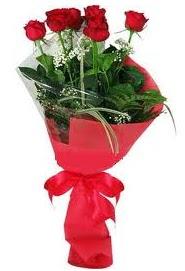Çiçek yolla sitesinden 7 adet kırmızı gül  Eskişehir internetten çiçek satışı