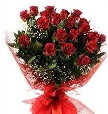 İlginç Hediye 21 Adet kırmızı gül  Eskişehir internetten çiçek siparişi