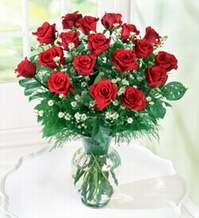 Eskişehir internetten çiçek satışı  9 adet mika yada vazoda kirmizi güller