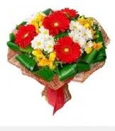 1 demet karışık buket  Eskişehir hediye sevgilime hediye çiçek
