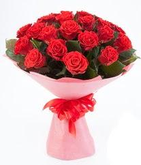 15 adet kırmızı gülden buket tanzimi  Eskişehir çiçek siparişi sitesi