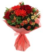karışık mevsim buketi  Eskişehir internetten çiçek siparişi