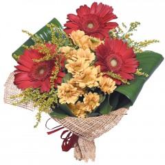 karışık mevsim buketi  Eskişehir çiçekçi mağazası