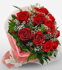 12 adet kırmızı güllerden kaliteli gül  Eskişehir çiçek siparişi vermek