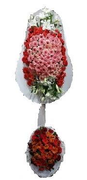çift katlı düğün açılış sepeti  Eskişehir internetten çiçek satışı
