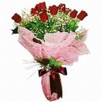 Eskişehir çiçek siparişi sitesi  12 adet kirmizi kalite gül