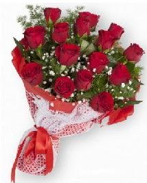 11 kırmızı gülden buket  Eskişehir güvenli kaliteli hızlı çiçek
