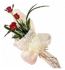 3 adet kırmızı gül buketi  Eskişehir güvenli kaliteli hızlı çiçek
