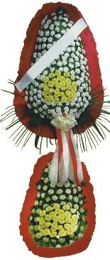 Çift katlı düğün açılış çiçeği  Eskişehir çiçek servisi , çiçekçi adresleri