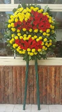 Cenaze çelengi çiçek modeli  Eskişehir çiçek mağazası , çiçekçi adresleri