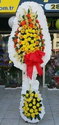 Çift katlı düğün nikah açılış çiçeği  Eskişehir güvenli kaliteli hızlı çiçek