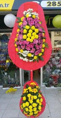 Çift katlı düğün nikah açılış çiçek modeli  Eskişehir online çiçek gönderme sipariş