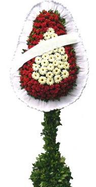 Çift katlı düğün nikah açılış çiçek modeli  Eskişehir İnternetten çiçek siparişi