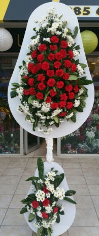 2 katlı nikah çiçeği düğün çiçeği  Eskişehir çiçek gönderme