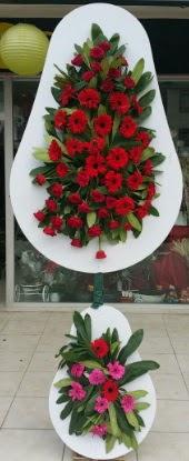 Çift katlı düğün nikah açılış çiçek modeli  Eskişehir internetten çiçek siparişi