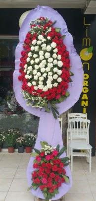 Çift katlı işyeri açılış çiçek modeli  Eskişehir ucuz çiçek gönder