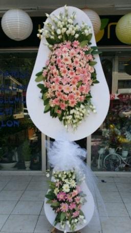 Çift katlı özel şahane sepet çiçeği  Eskişehir çiçekçi telefonları