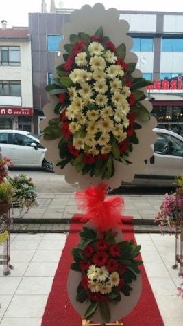 Çift katlı düğün açılış çiçeği  Eskişehir çiçek satışı