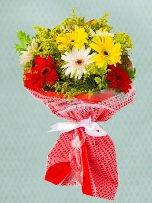 Karışık Gelbera Buketi  Eskişehir çiçek siparişi sitesi