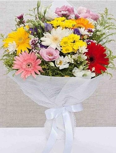 Karışık Mevsim Buketleri  Eskişehir ucuz çiçek gönder