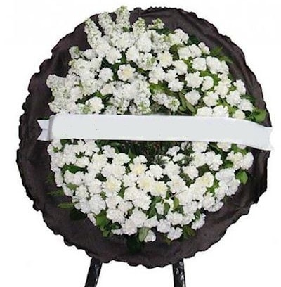 Cenaze çelengi çiçeği modelleri  Eskişehir internetten çiçek satışı