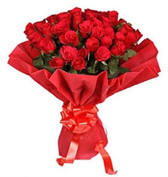 41 adet gülden görsel buket  Eskişehir çiçek satışı