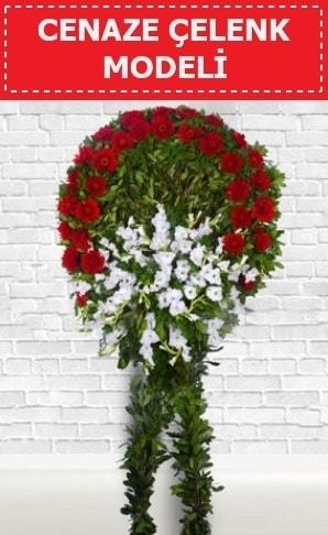 Cenaze Çelengi cenaze çiçeği  Eskişehir çiçekçi telefonları