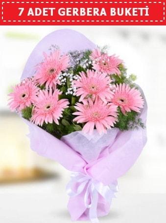 Pembe Gerbera Buketi  Eskişehir çiçek , çiçekçi , çiçekçilik